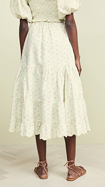 Hemant and Nandita Long Skirt