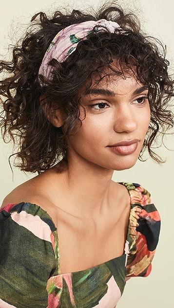 Hemant and Nandita Floral Headband