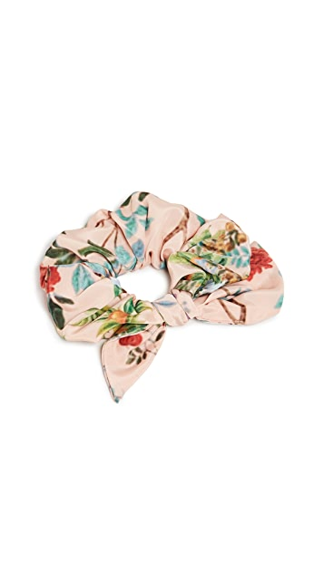 Hemant and Nandita Floral Scrunchie