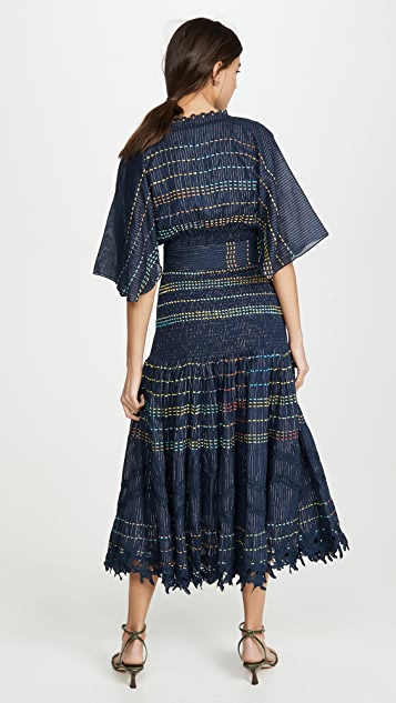 Hemant and Nandita Макси-платье