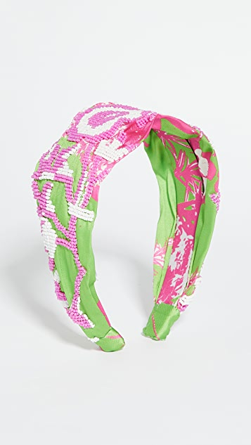 Hemant and Nandita Pink Headband