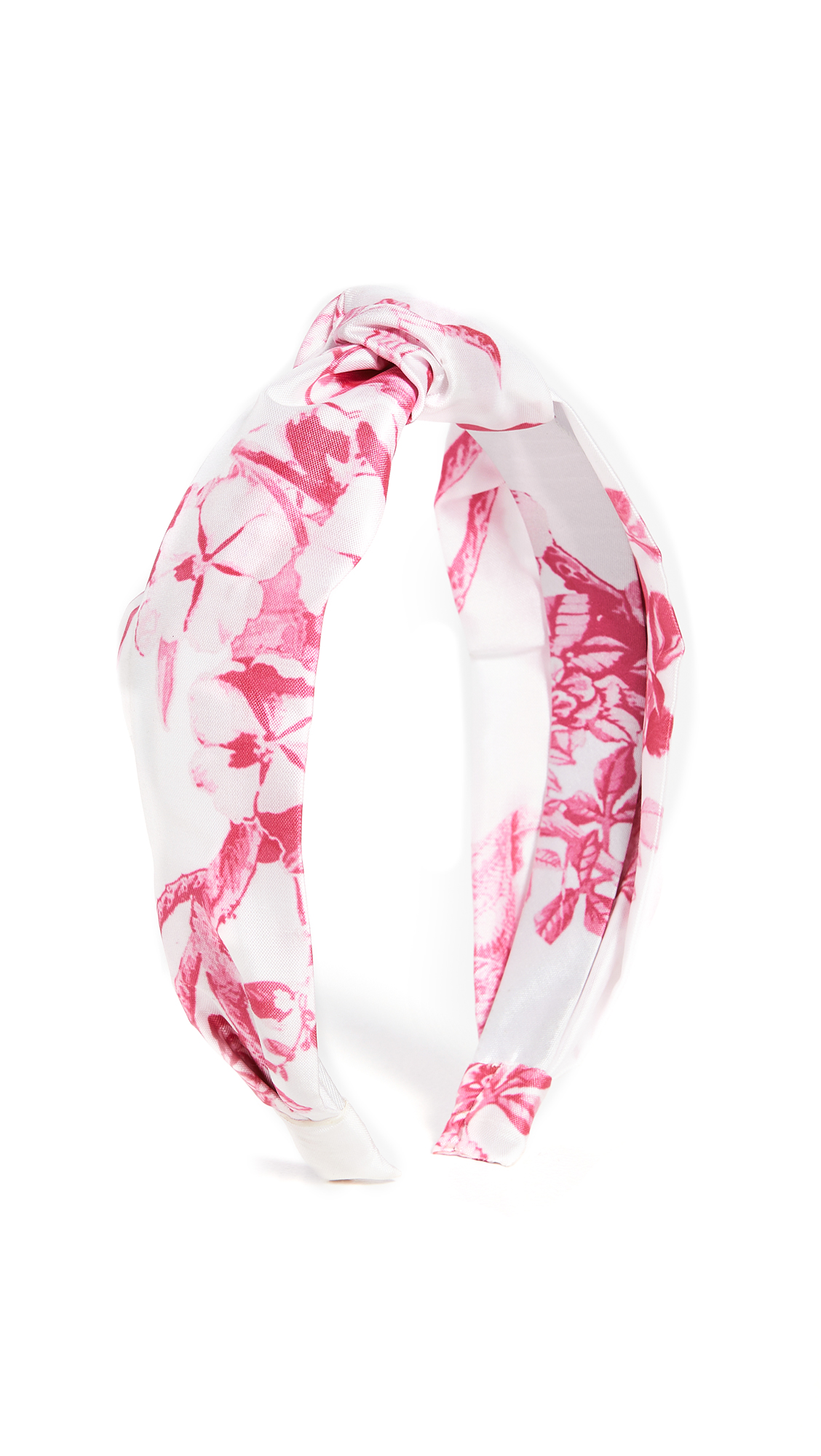 Hemant and Nandita Pink Print Headband