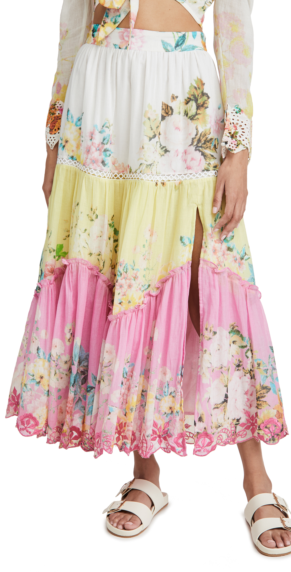 Hemant and Nandita Midi Skirt