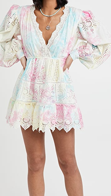 Hemant and Nandita Short Cover Up Dress
