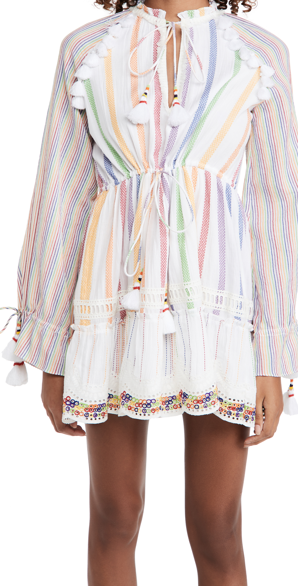 Hemant and Nandita Short Rainbow Dress