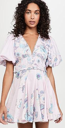 Hemant and Nandita - V Neck Short Dress