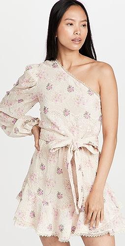 Hemant and Nandita - One Shoulder Short Dress