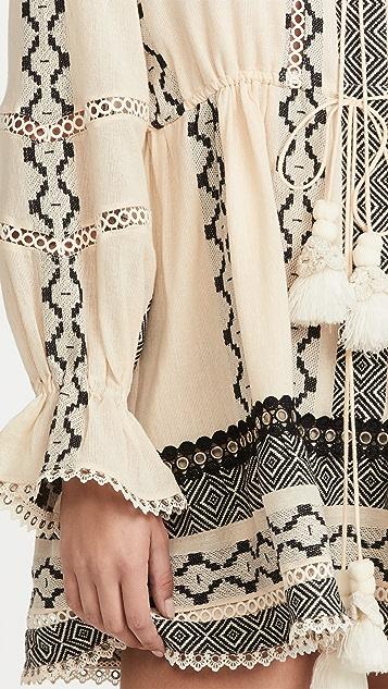 Hemant and Nandita Boho Short Dress