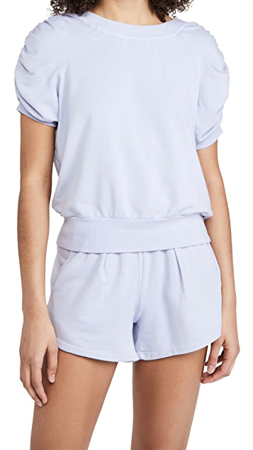 Heroine Sport Ruched Sweat Tee