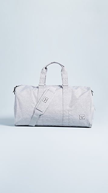 Herschel Supply Co. Novel Mid Volume Duffel Bag - Light Grey Crosshatch