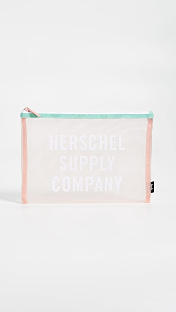 Herschel Supply Co. Network Mesh Large Pouch