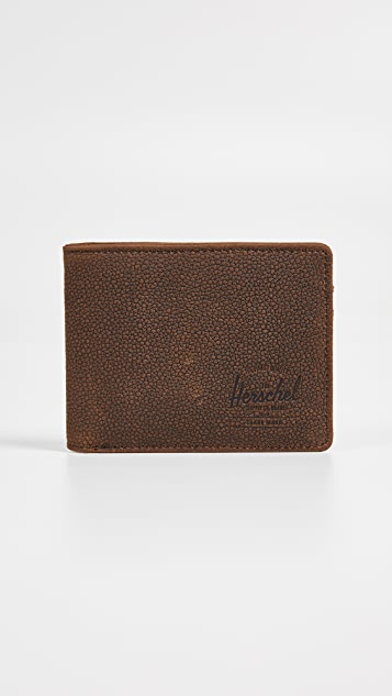 Herschel Supply Co. Roy Leather Wallet + Tile