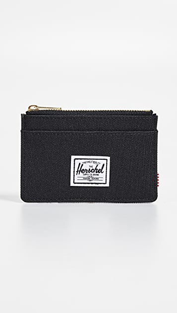 Herschel Supply Co. Oscar Zip Card Case