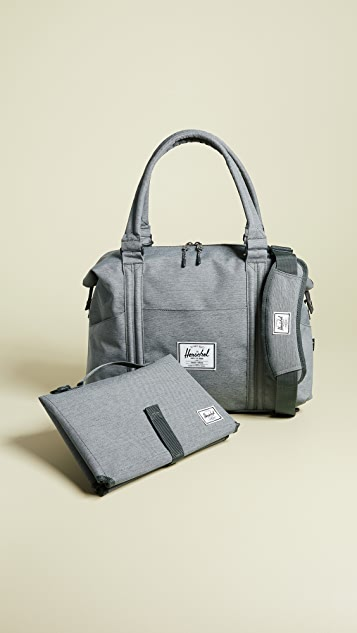 herschel supply co  strand sprout diaper bag