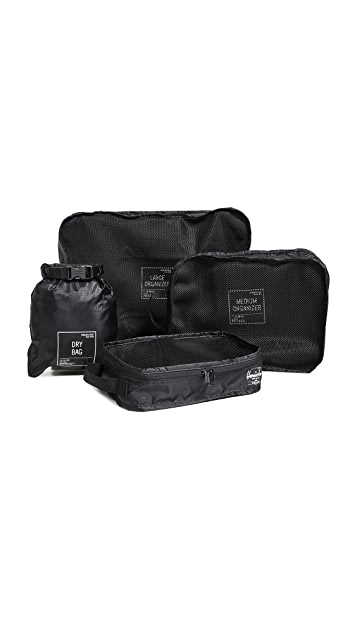 Herschel Supply Co. Travel Organizer Set