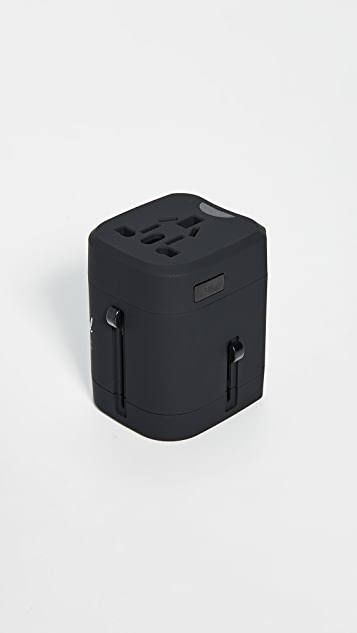 Herschel Supply Co. Travel Adapter