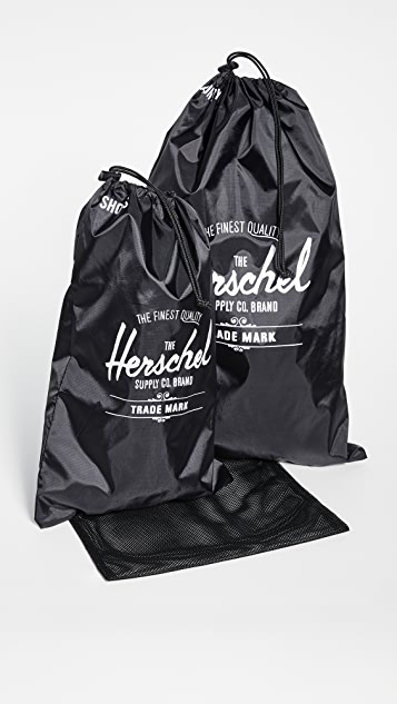 Herschel Supply Co. Laundry and Shoe Bag Set
