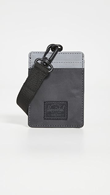 Herschel Supply Co. Charlie Lanyard RFID Wallet
