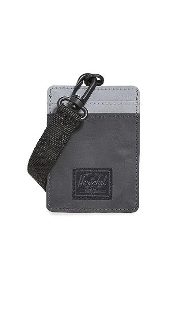 Herschel Supply Co. Charlie Lanyard RFID Wallet