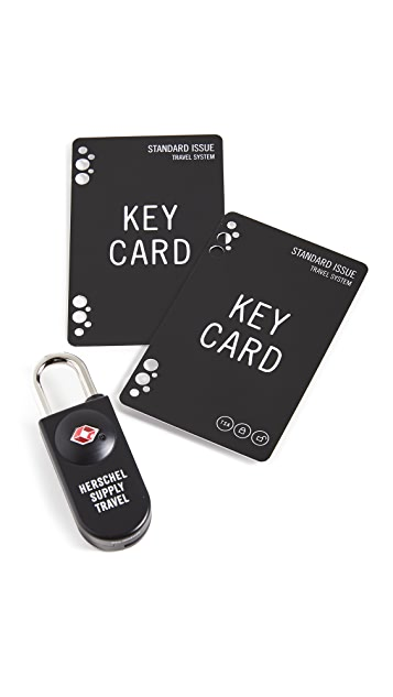 Herschel Supply Co. TSA Card Lock