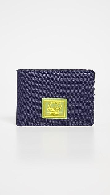Herschel Supply Co. Roy Rubber RFID Wallet