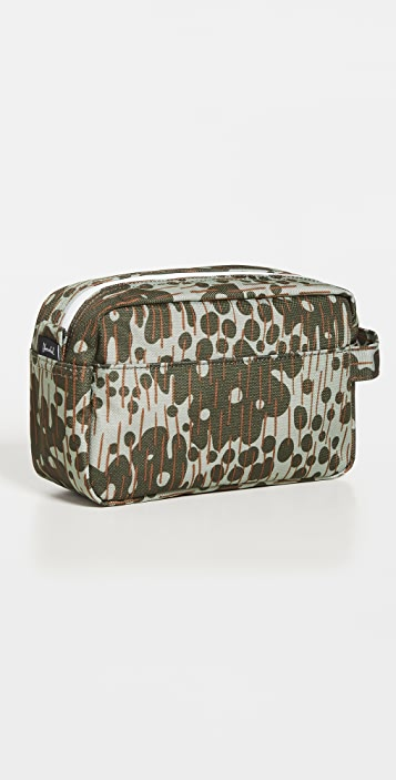 Herschel Supply Co. Chapter Travel Kit Co 600d Poly Grn Pcamo