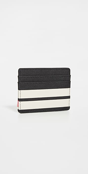 Herschel Supply Co. Charlie+ 600d Poly Black Birch Wallet