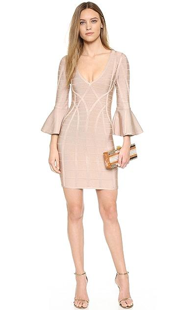 Herve Leger Yasmine Dress