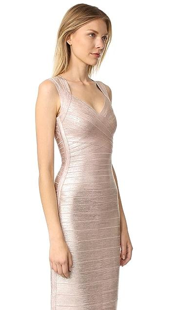 Herve Leger Estrella Maxi Dress