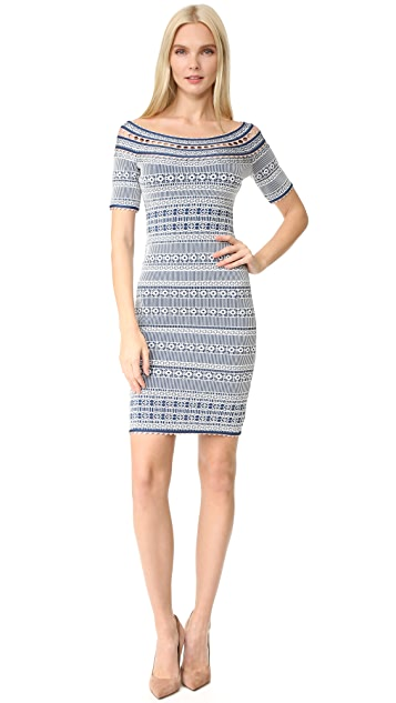 Herve Leger Lacey Dress