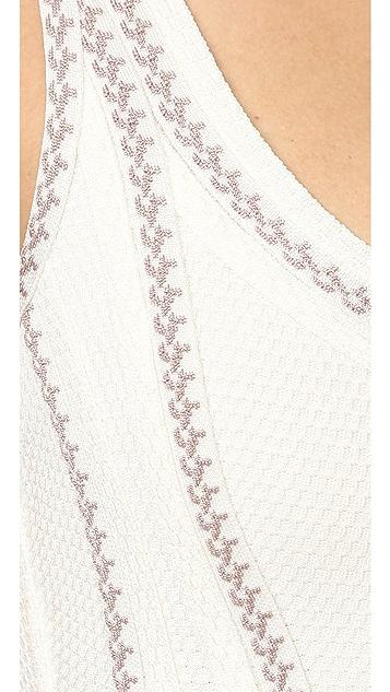 Herve Leger Luisana Long Dress