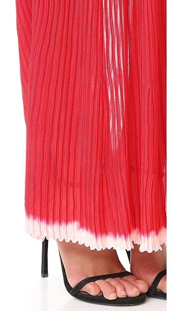 Herve Leger Zhenya Long Dress