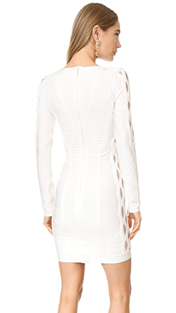 Herve Leger Breanna Knit Dress