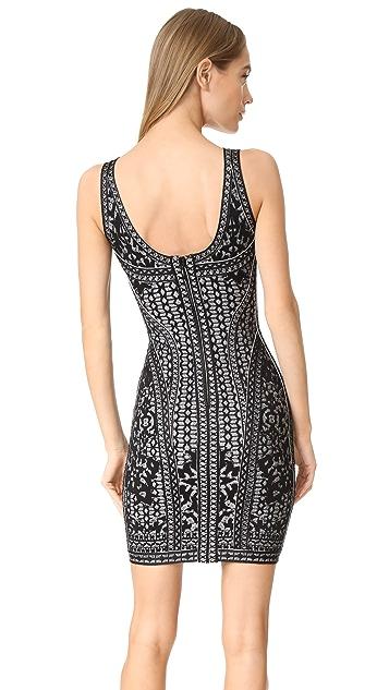 Herve Leger Jazmin Knit Dress