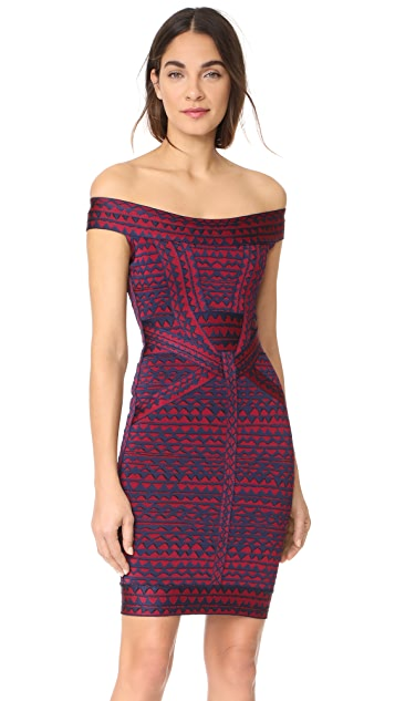 Herve Leger Christy Dress