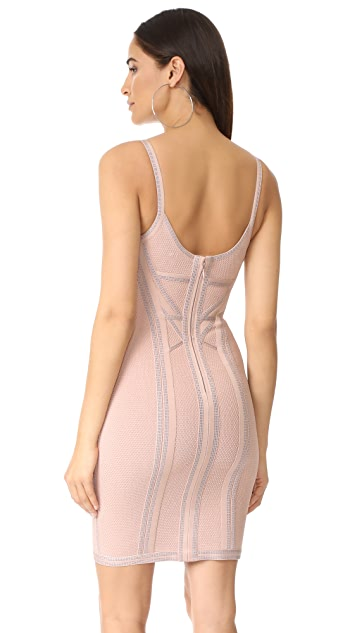 Herve Leger Elissa Cocktail Dress