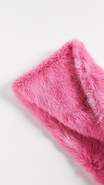 Heurueh Luxe Faux Fur Cowl Scarf