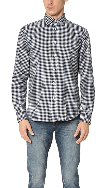 Hartford Paul Flannel Check Shirt