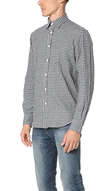 Hartford Paul Flannel Check Shirt
