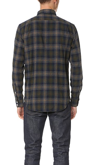 Hartford Paul Plaid Shirt