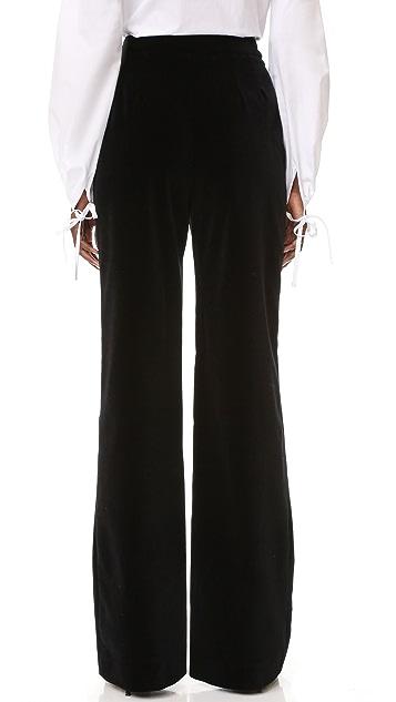 Holly Fulton Velvet Trousers