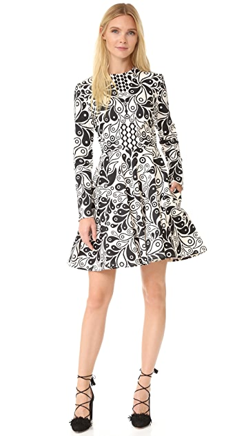 Holly Fulton Kiki Long Sleeve Dress