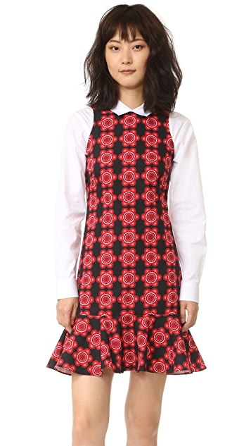 Holly Fulton Print Shift Dress