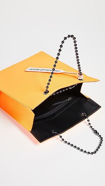 House of Holland Объемная сумка с короткими ручками