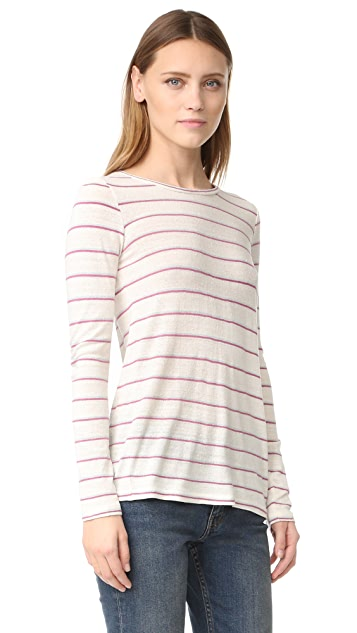 Intropia Striped Long Sleeve Tee