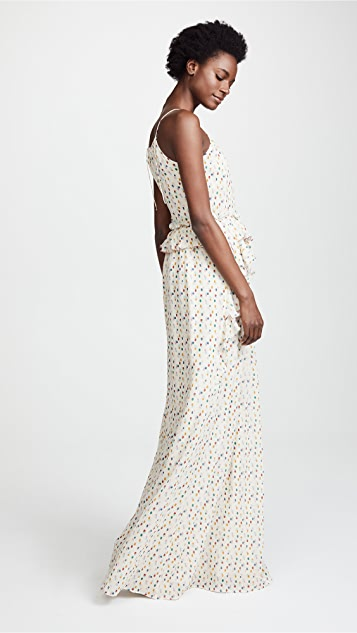 Intropia Polka Dot Gown