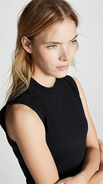 Hanes x Karla The Sleeveless Crop Tee