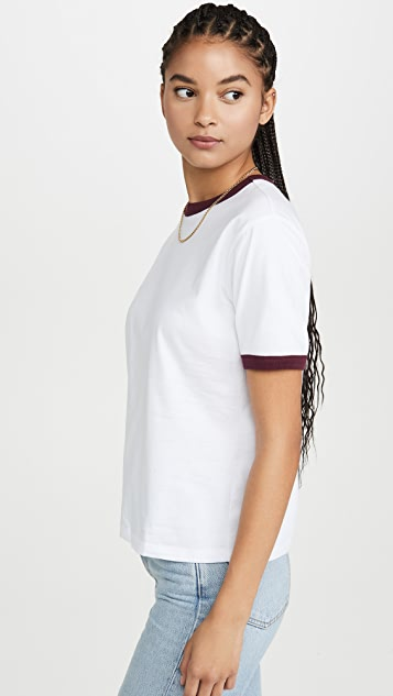 x karla The Ringer Tee