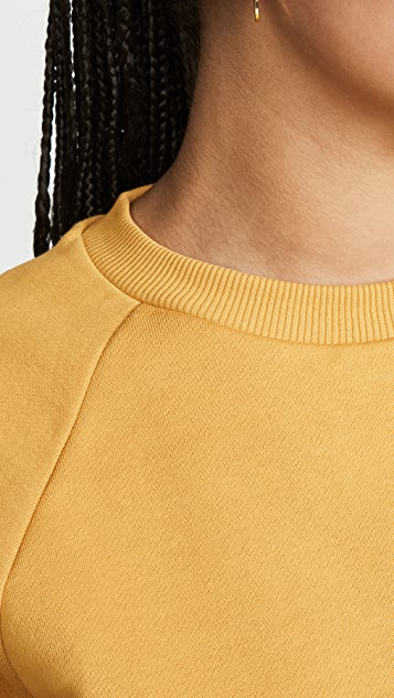 Hanes x Karla The Raglan Crew Sweatshirt