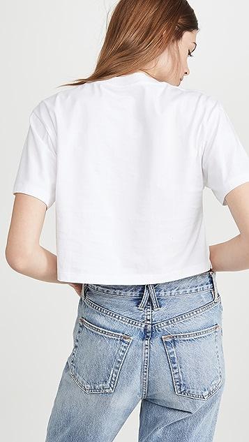 x karla 超短设计 T 恤